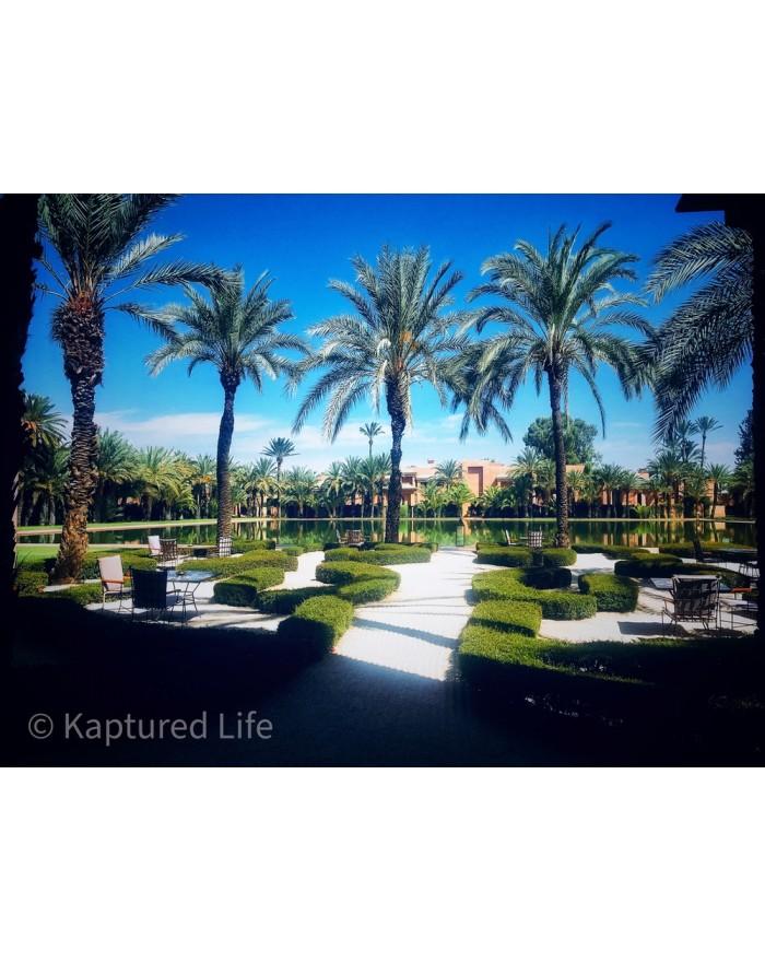 Amanjena Courtyard