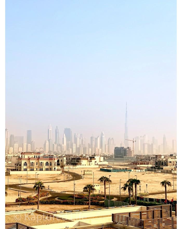 Finding Burj Khalifa